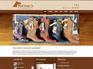 Wayne's Saddlery Boot & Harness Ltd.